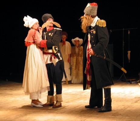 Народная драма «Лодка» в Калужском областном драматическом театре