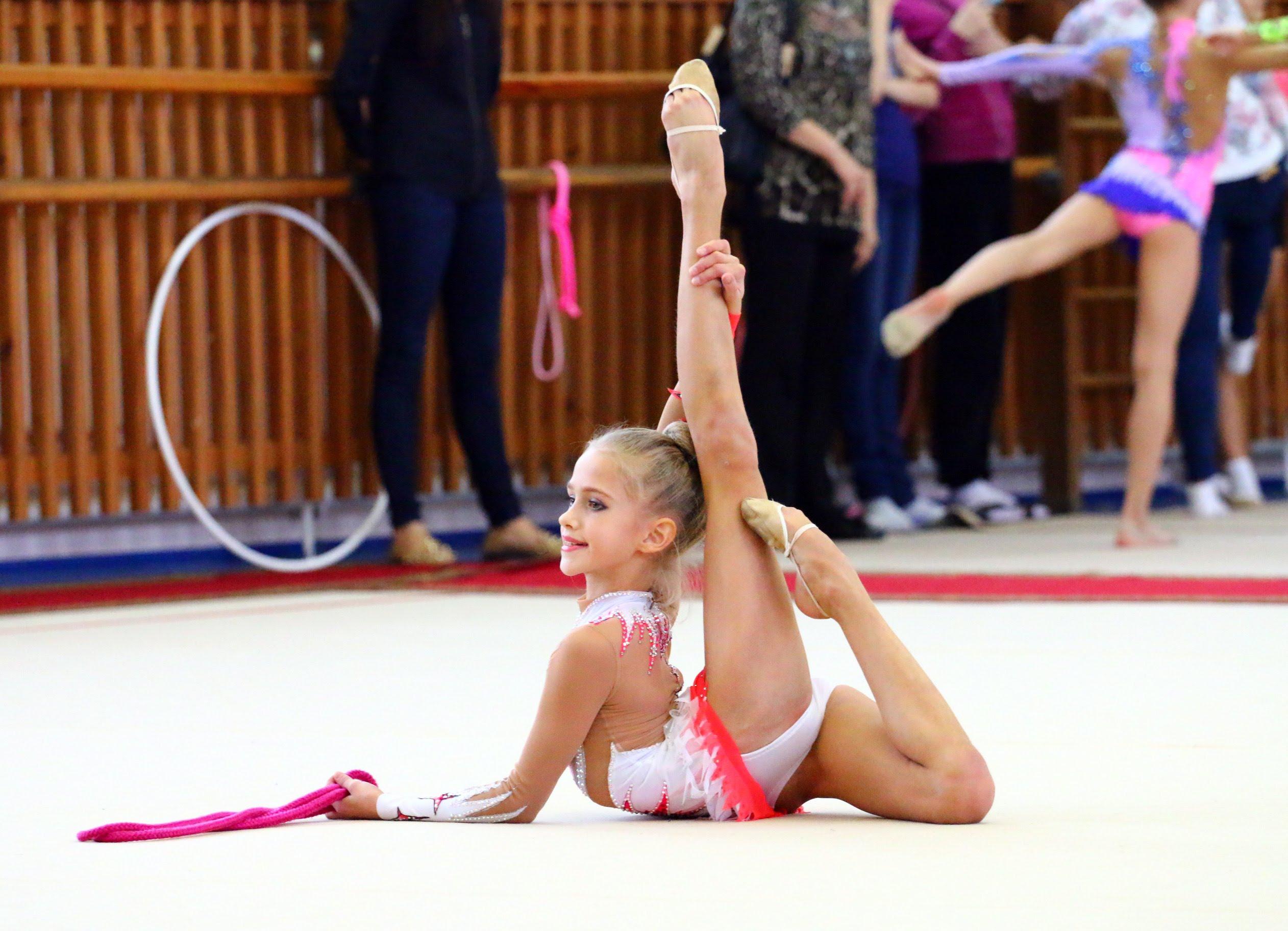 Художественная гимнастика, открытое первенство