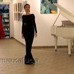 Показ коллекции вечерних платьев