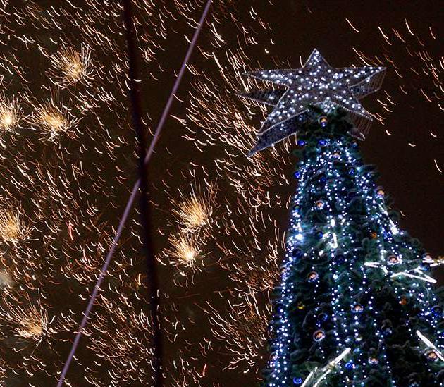 Городская управа рассказала, как будет украшена Калуга к Новому году