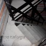 Лестничные пролёты при подъёме на каланчу калуга