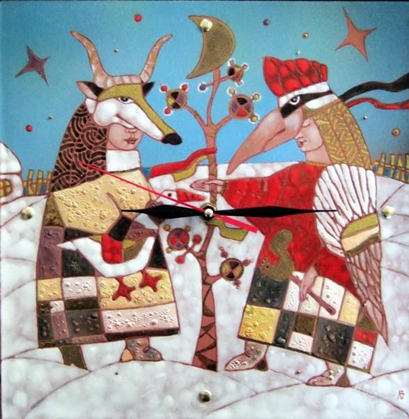 В Доме художника открыта выставка художественной эмали