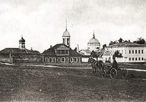 Вид на Калужский ипподром