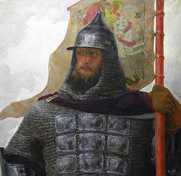 Чем интересен образ Александра Невского в творчестве Афанасия Куликова?