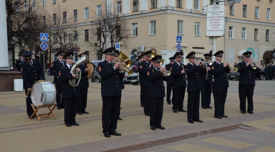 Концерт духового оркестра УМВД по Калужской области в ГДЦ