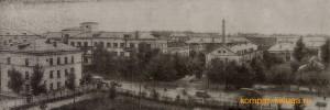 Вид на улицу Пухова из ГДЦ. 1936-й год