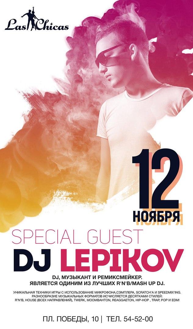 DJ LEPIKOV | LAS CHICAS