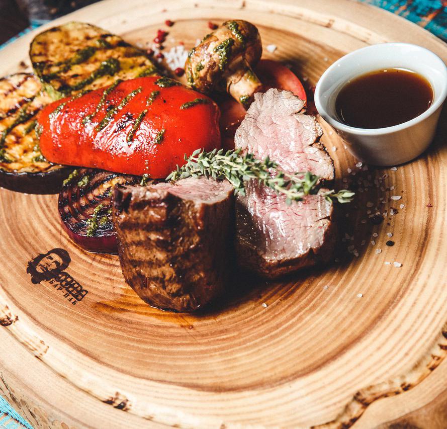 Кухня бара-паба «CUBA»: «калужская» основа с латиноамериканскими «нотами»