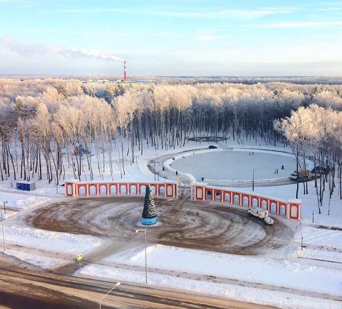 27 декабря в Калуге откроется сквер «Пожарным и спасателям»