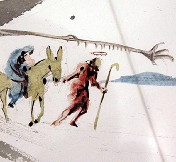 16 декабря в Обнинске откроется выставка иллюстраций к Библии Сальвадора Дали