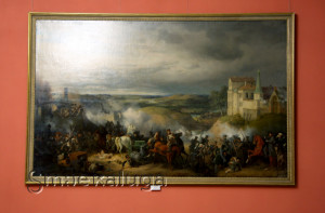 «Сражение под Малоярославцем 12 октября 1812 года»