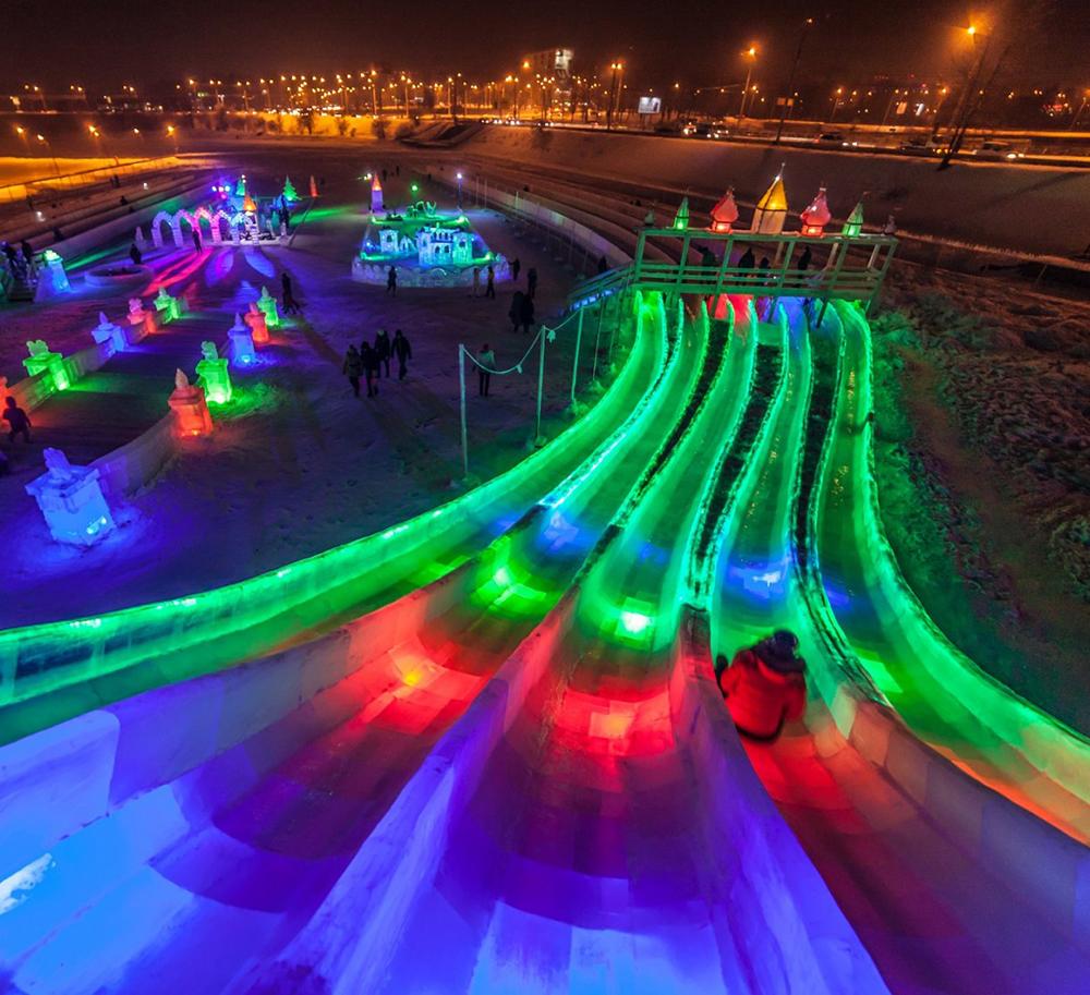 Опубликована программа развлечений в Ледяном городке на Яченском водохранилище