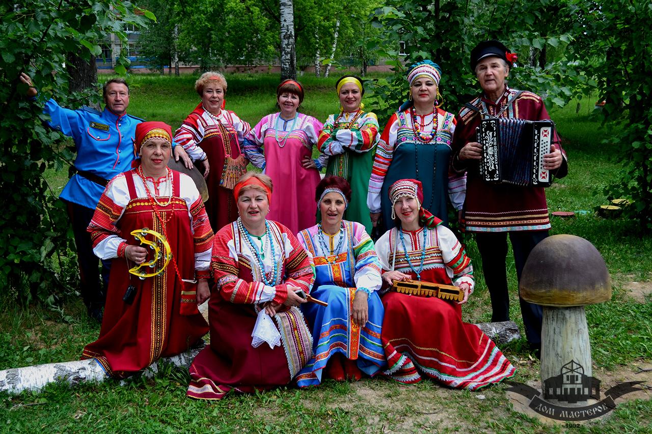 Концерт народного самодеятельного коллектива «Калужская тальянка» — «Казачьи народные песни» в Доме мастеров