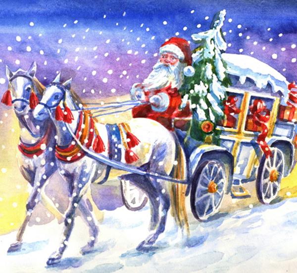 Стал известен маршрут Деда Мороза по улицам города 17 декабря