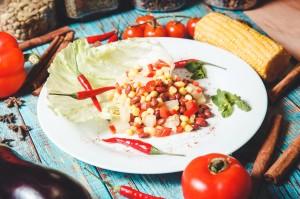 """Кубинский салат в баре-пабе """"CUBA"""""""