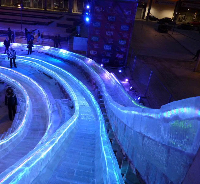 30 декабря в Калуге откроется Космический ледяной городок