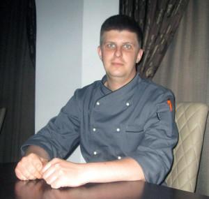 """Александр Рожков, шеф-повар бара-паба """"CUBA"""" калуга"""
