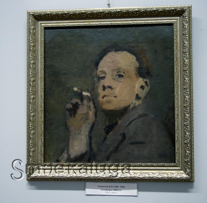 В Калужском музее изобразительных искусств открылась уникальная выставка довоенных работ художника-эмигранта Виктора Остроумова