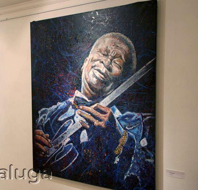 В отеле Four Points by Sheraton проходит благотворительная выставка-продажа картин Михаила Самсонадзе