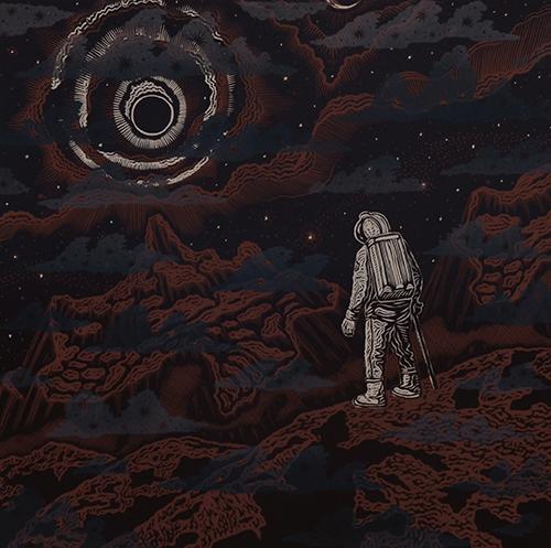 В Государственном музее истории космонавтики представлена выставка графики заслуженного художника РФ Генриха Стопа