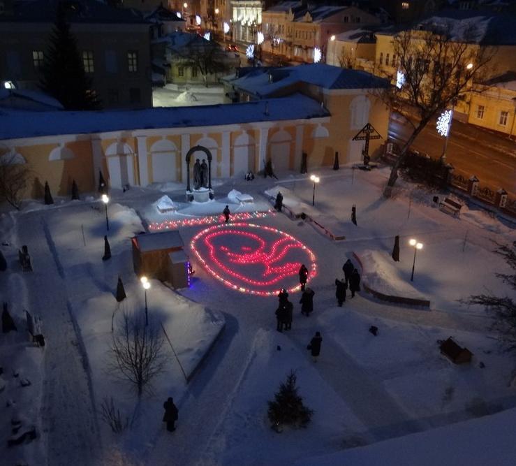 10 января в сквере Петра и Февронии пройдёт арт-акция «Сохрани жизнь»