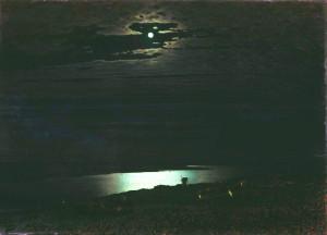 "Архип Куинджи. ""Лунная ночь на Днепре"""