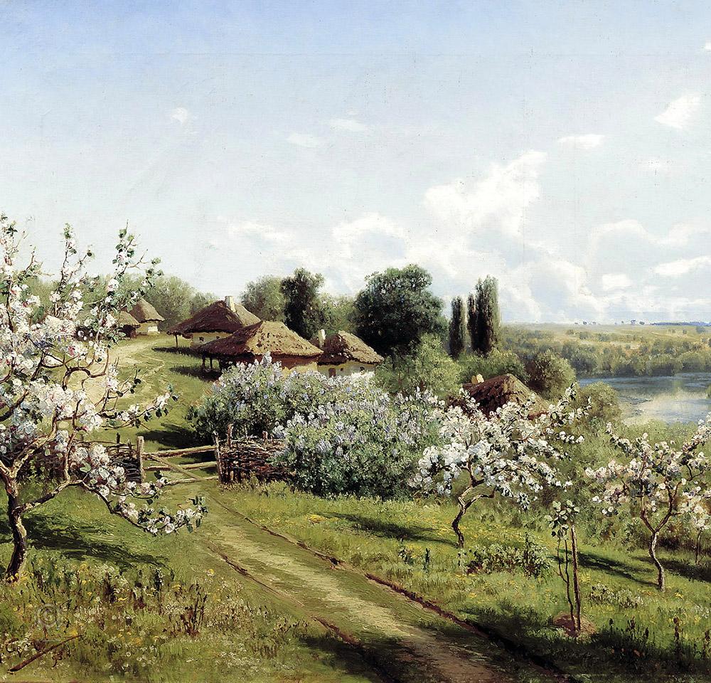В фойе концертного зала им. С. И. Танеева пройдёт выставка репродукций знаменитых русских пейзажей