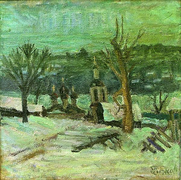 В Музее изобразительных искусств пройдёт персональная выставка калужского художника Льва Рыжова