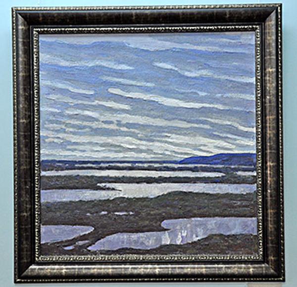 В Калужском музее изобразительных искусств открылась выставка живописи и графики Бориса Овчинникова-Новочадовского