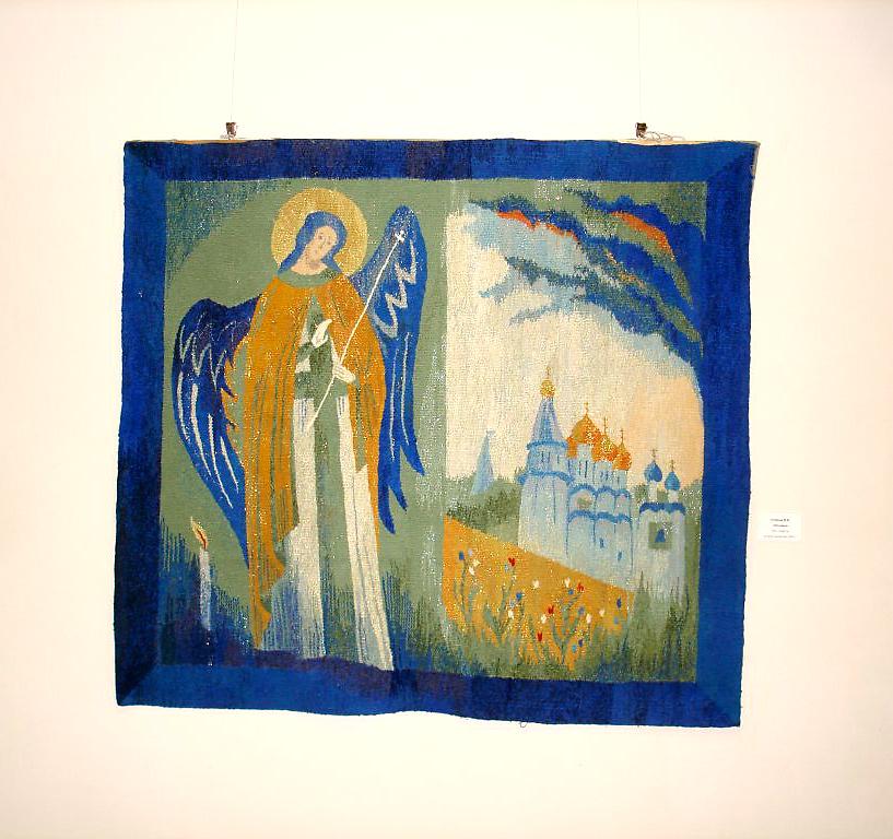 В Калужском музее изобразительных искусств открылась выставка гобеленов Натальи Озерной