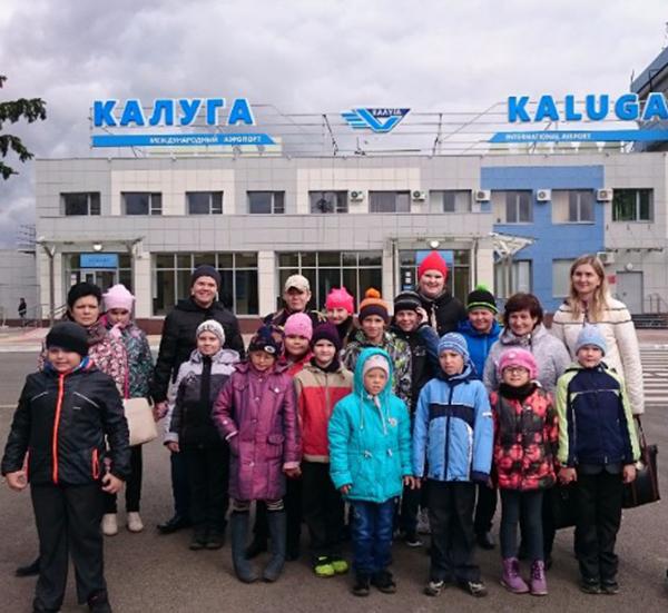 Международный аэропорт «Калуга» возобновляет проведение групповых экскурсий для школьников и студентов