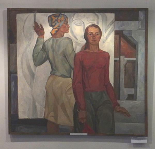 В Калужском музее изобразительных искусств начала работать выставка «Живописная глубина» Ю. А. Епишина и А. М. Волкова