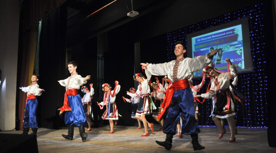 В Калуге отметили фестиваль «Пляшут сердце и душа»