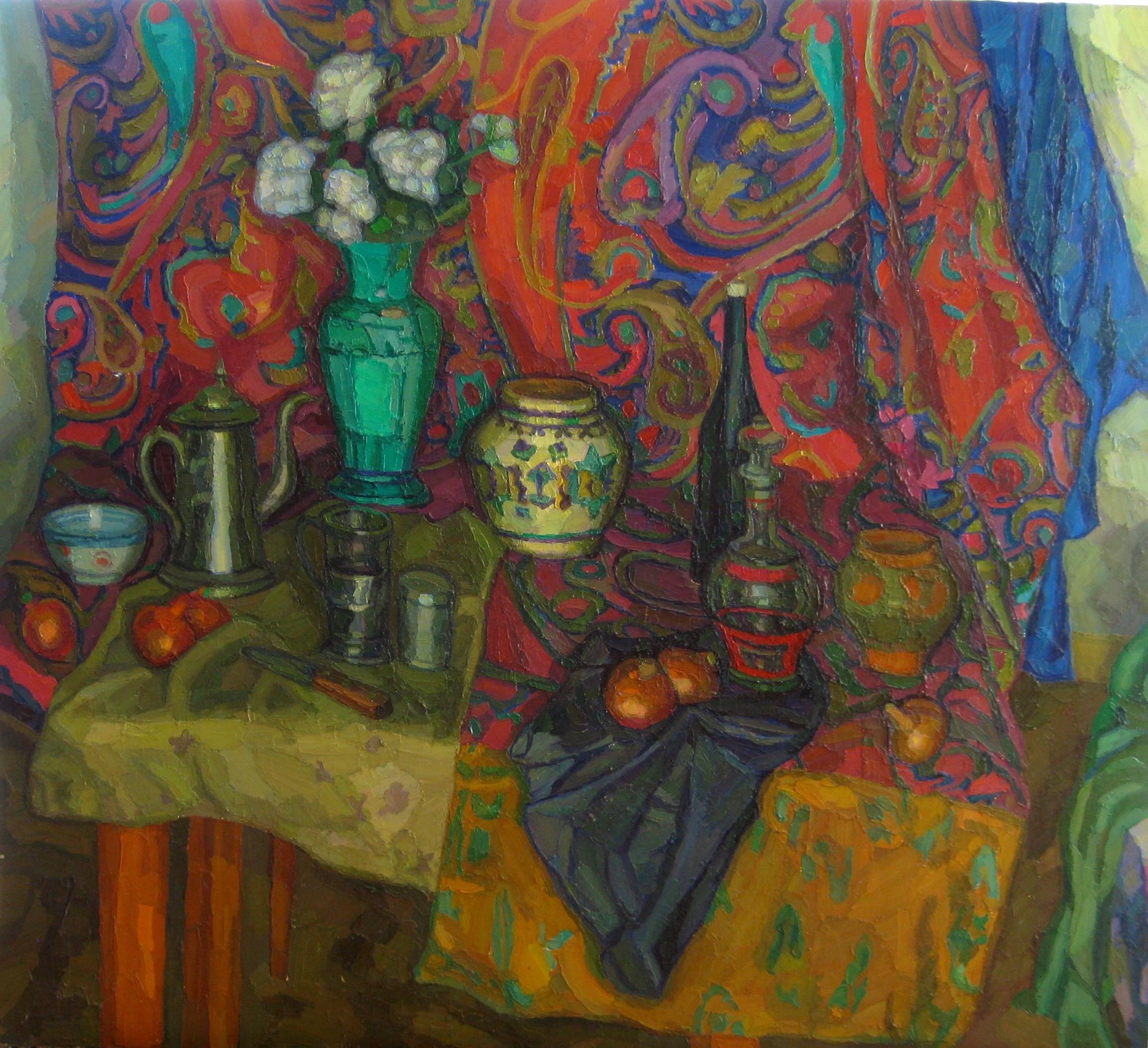 Калужский музей изобразительных искусств открывает персональную выставку московского художника Юрия Шестакова
