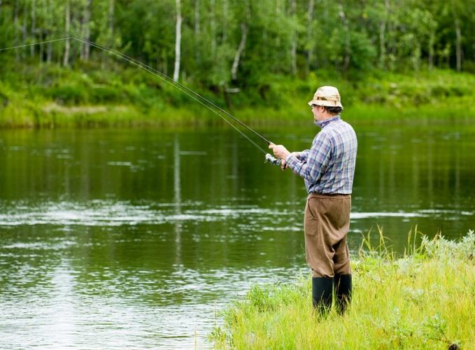 На выходных состоялся фестиваль рыбной ловли