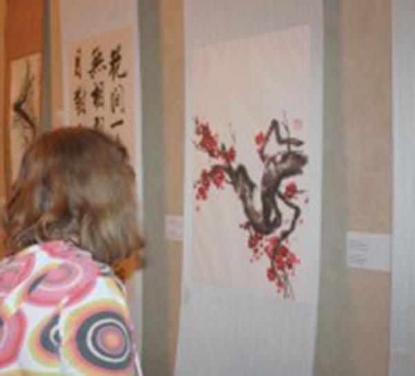 В ИКЦ работает выставка китайской художницы и архитектора Мэри Джанг