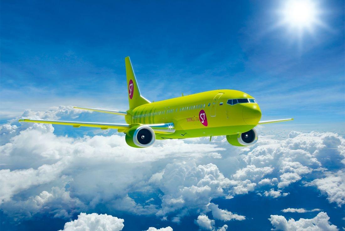 9 мая в Международном аэропорту Калуга приземлится первый рейс S7 Airlines