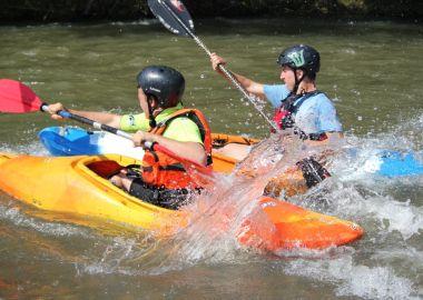Соревнование «Юный водник» состоялось на Яченском водохранилище