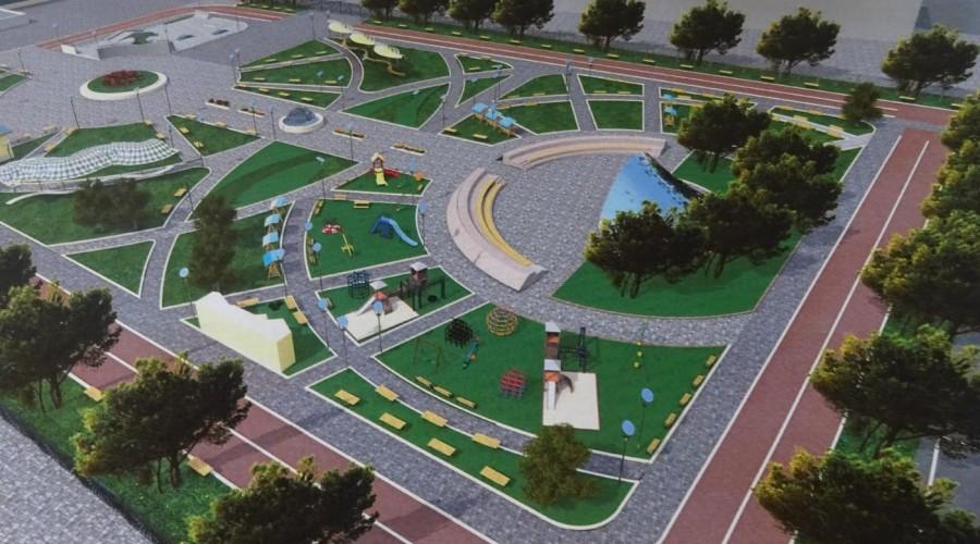 Стало известно каким будет парк на территории бывшего рынка