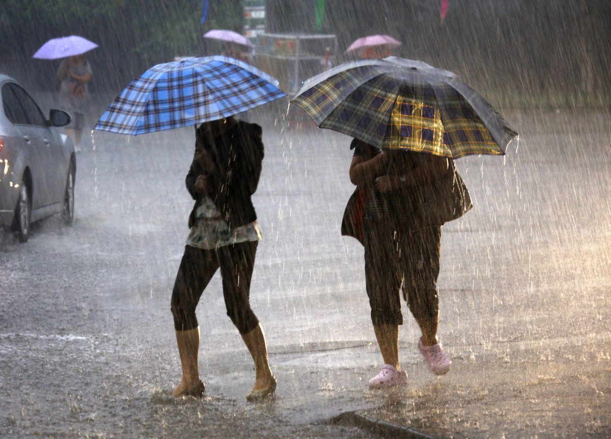 В Калугу идут дожди и грозы