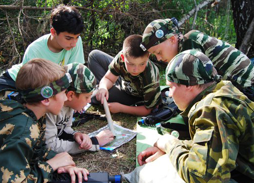 Для школьников проведут военно-тактические игры на местности