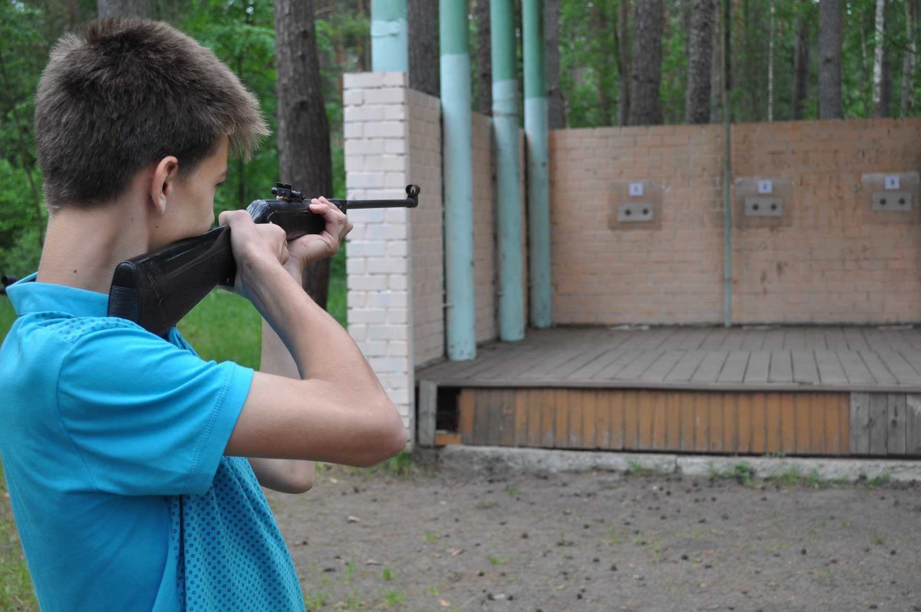 В оздоровительном центре «Белка» прошел турнир по стрельбе