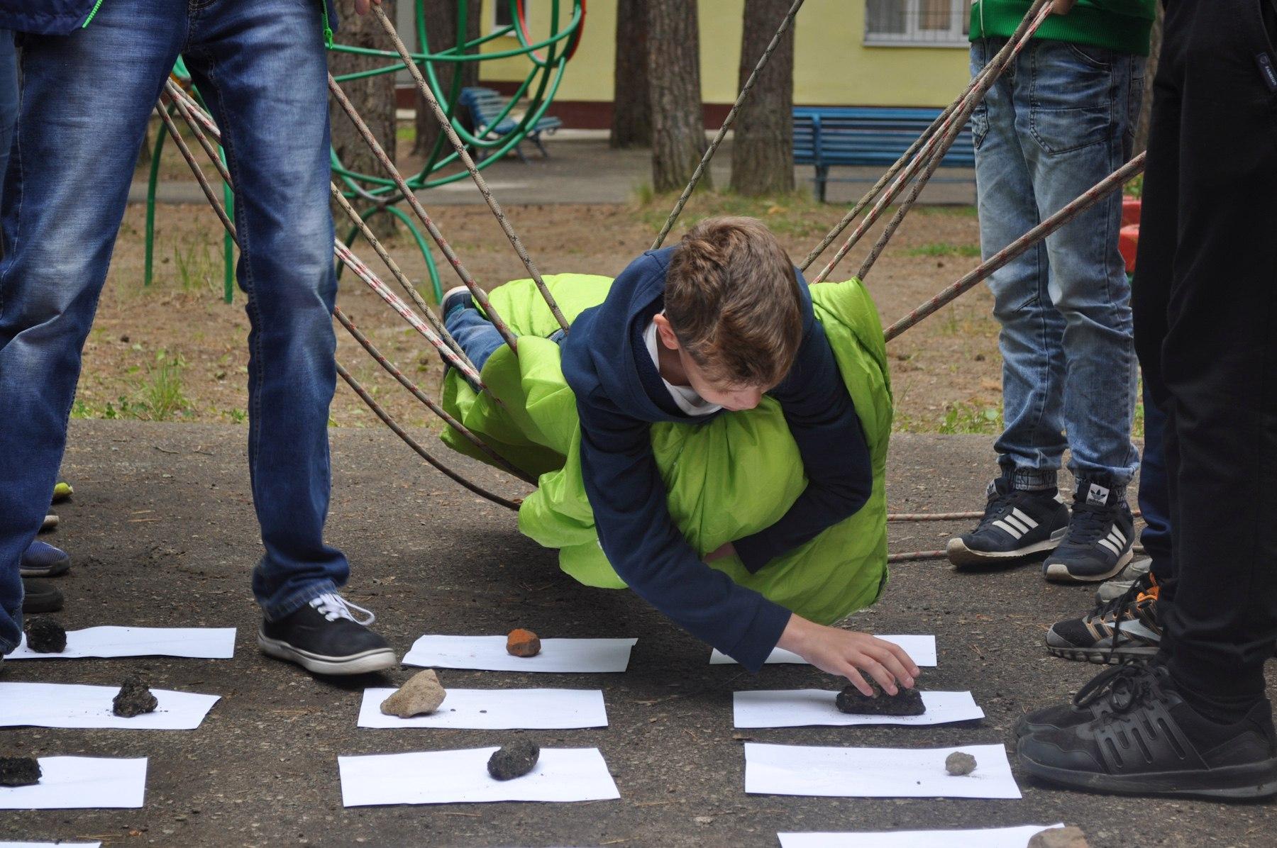 В «Белке» прошел первый исторический квест для школьников