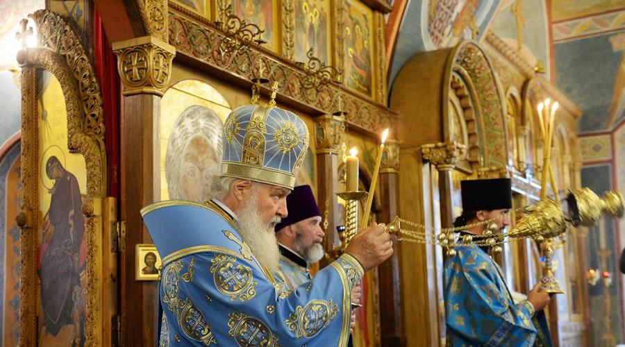 Патриарх Кирилл посетил монастырь Оптина пустынь
