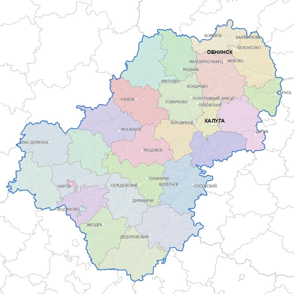 Калужская область оказалась лидером рейтинга по благоустройству городской среды