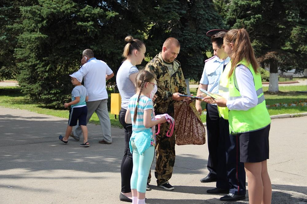 Акция «Ребенок пешеход» прошла в Калужской области