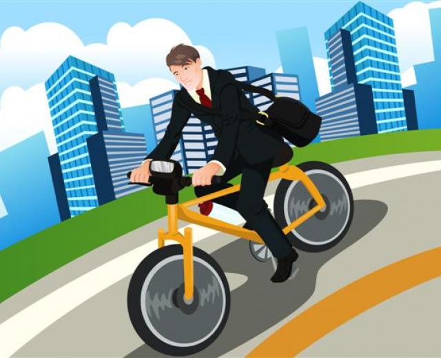 Калуга присоединилась ко Всероссийской акции «На работу на велосипеде»