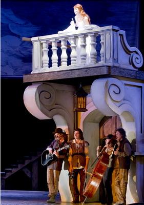 «Сирано де Бержерак» в Калужском областном драматическом театре