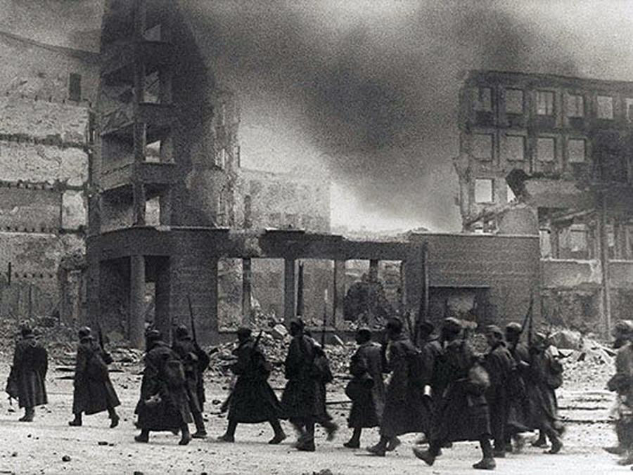 В Калуге воссоздали сражение 1941 года
