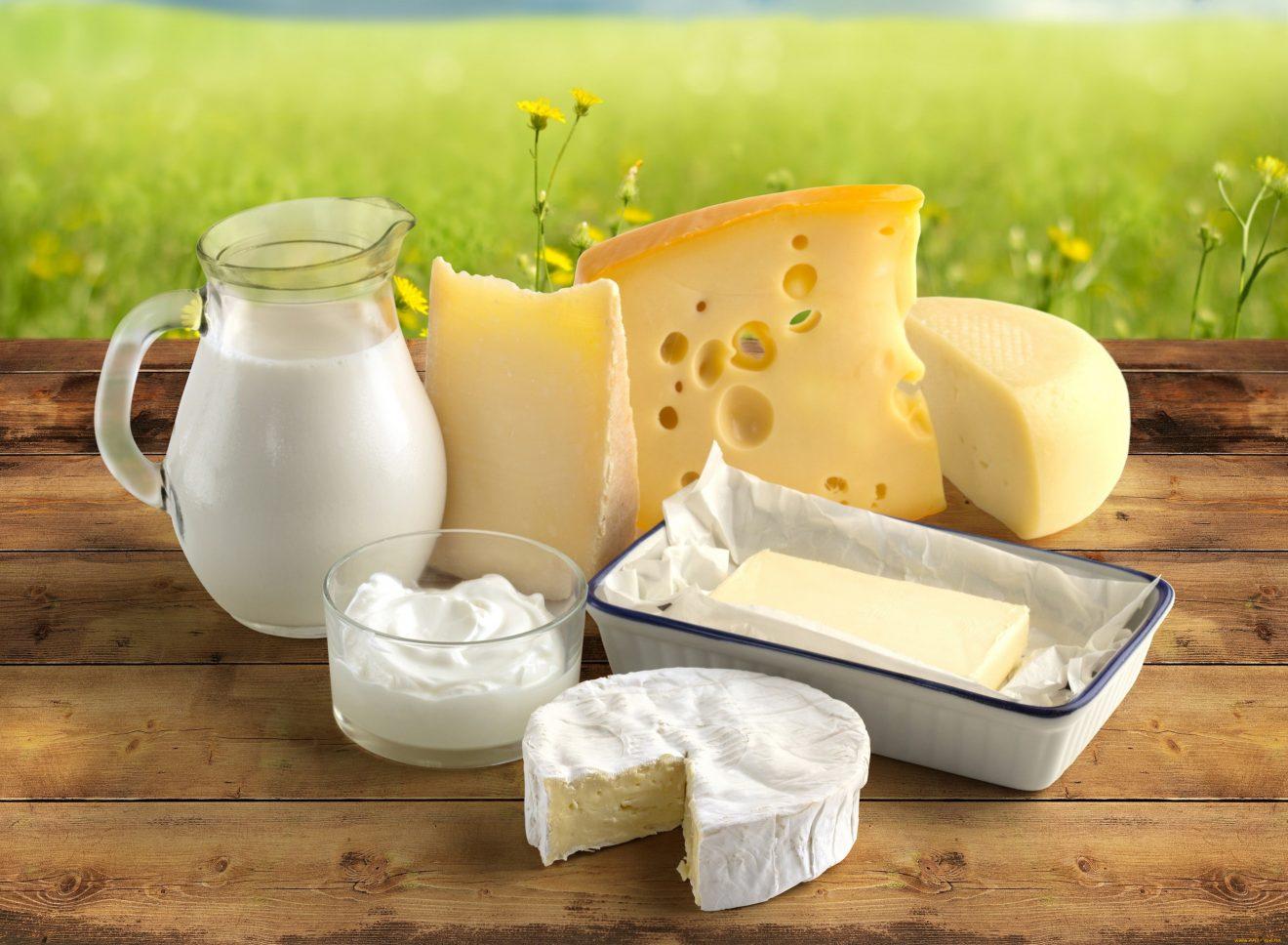 Калужан угостили молочными продуктами